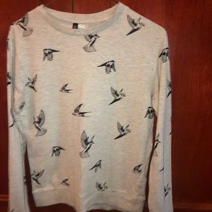 Bird gray sweaters